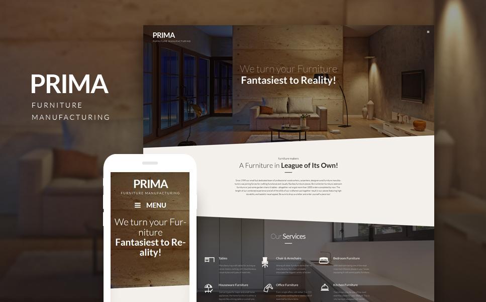 Tema wordpress 53145 per un sito di arredamento e design for Sito arredamento design