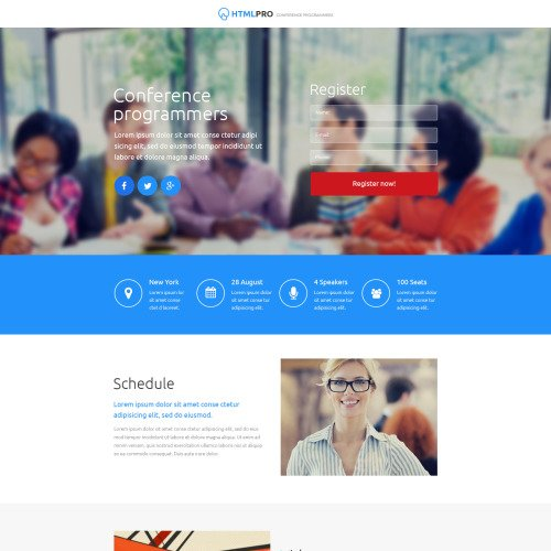 Html Pro - Unbounce Template