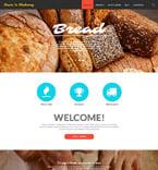 Food & Drink Website  Template 53200