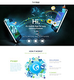 Software Landing Page  Template 53203