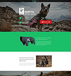 Animals & Pets Unbounce  Template 53208