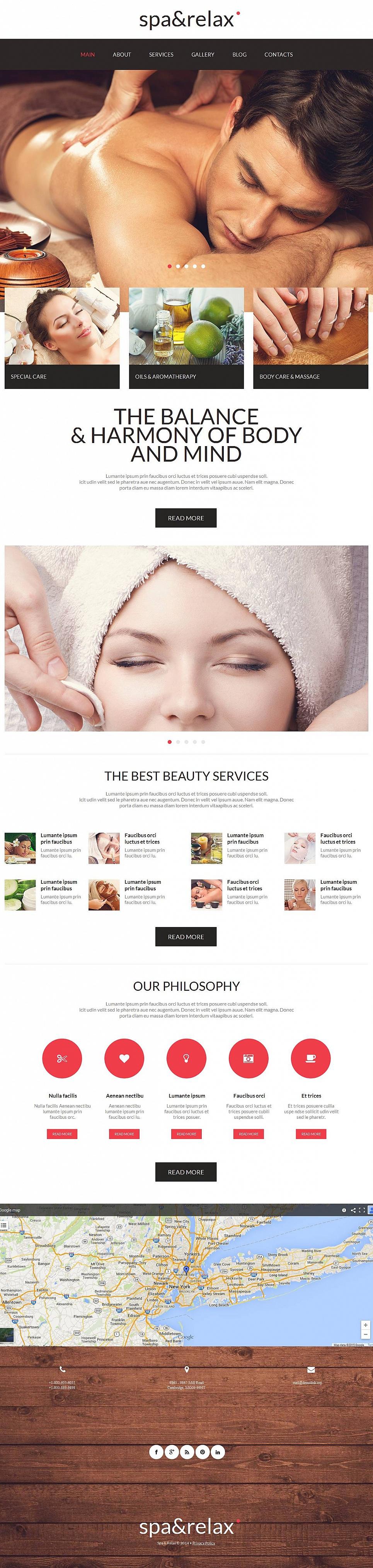 Complete Website Design for Beauty Salon - image
