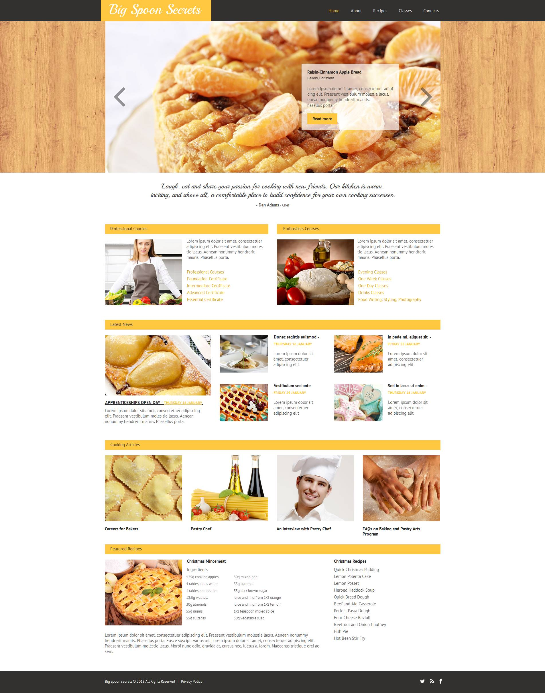 The Big Spoon Secrets Cooking School Moto CMS HTML Design 53215, one of the best Moto CMS HTML templates of its kind (education), also known as Big Spoon Secrets cooking school Moto CMS HTML template, cook Moto CMS HTML template, culinary Moto CMS HTML template, academy Moto CMS HTML template, education Moto CMS HTML template, prices Moto CMS HTML template, classes Moto CMS HTML template, chef Moto CMS HTML template, instructor Moto CMS HTML template, instructors Moto CMS HTML template, calendar Moto CMS HTML template, courses Moto CMS HTML template, food Moto CMS HTML template, dish Moto CMS HTML template, dishes and related with Big Spoon Secrets cooking school, cook, culinary, academy, education, prices, classes, chef, instructor, instructors, calendar, courses, food, dish, dishes, etc.