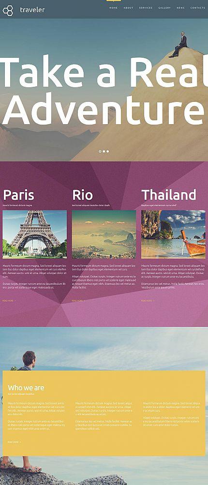 ADOBE Photoshop Template 53220 Home Page Screenshot