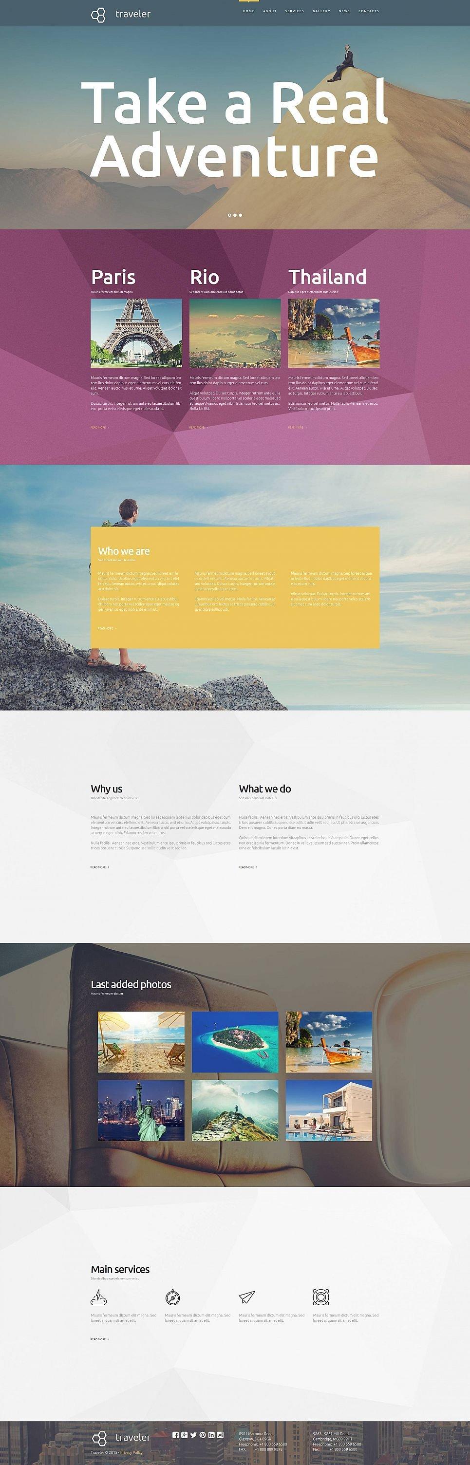 Trip Agency Website Design - image