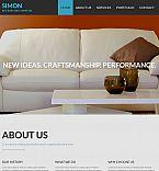 Furniture Moto CMS 3  Template 53224