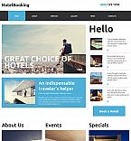 Hotels Moto CMS 3  Template 53226