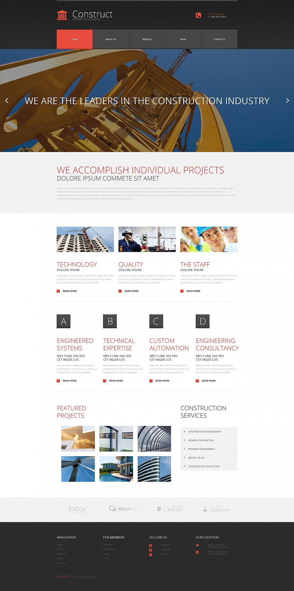 Responsive Website Design for Architects - image