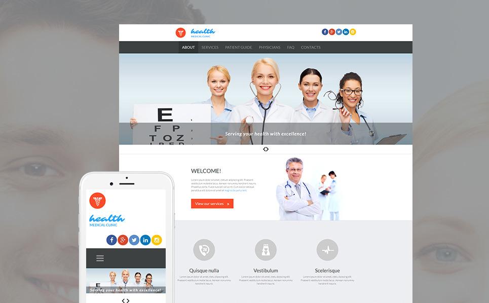 Responsywny szablon Moto CMS 3 #53228 na temat: medycyna New Screenshots BIG