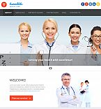 Medical Moto CMS 3  Template 53228