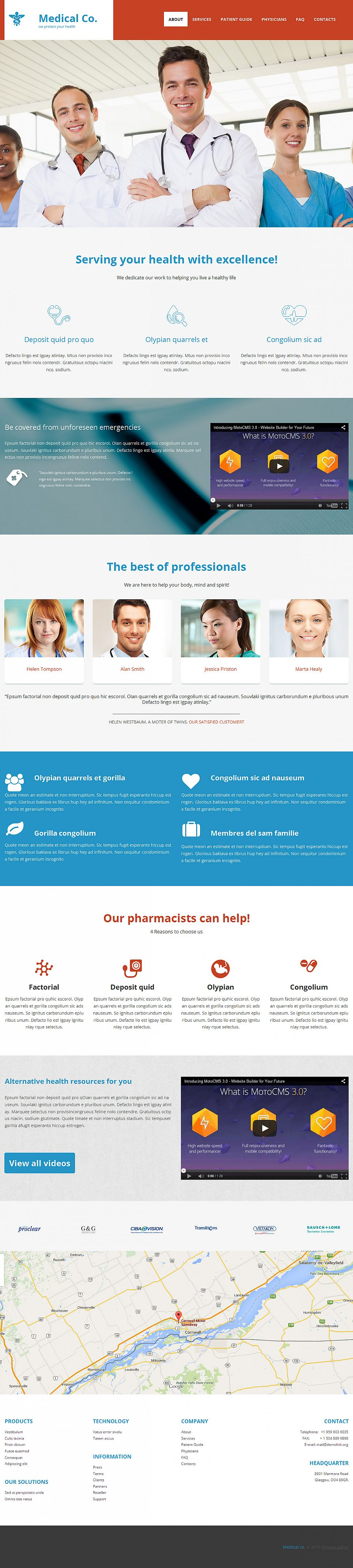 Medical Website for Doctors - image