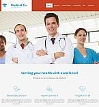 Medical Moto CMS 3  Template 53236