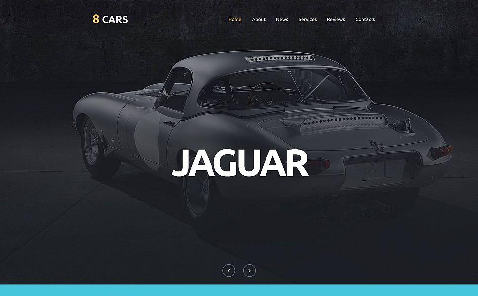 Templates Moto CMS 3 Flexível para Sites de Clube de Carros №53237 New Screenshots BIG