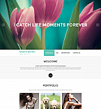 Art & Photography Moto CMS 3  Template 53239