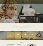 Education Website  Template 53241