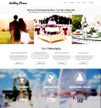 Wedding Website  Template 53242