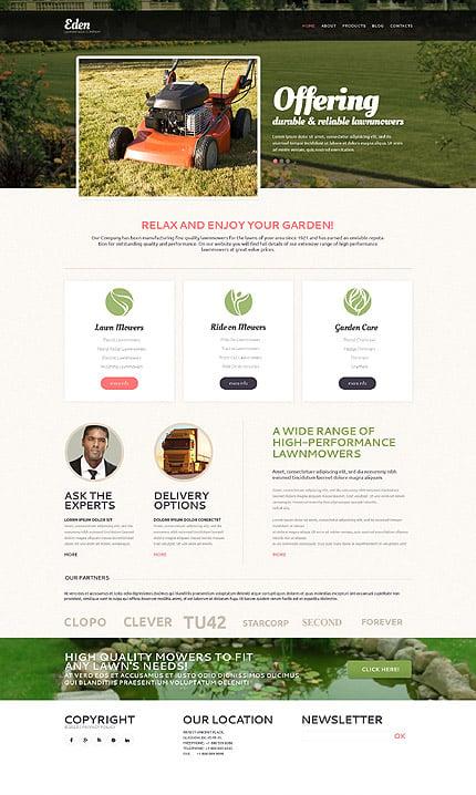 Drupal Template 53244 Main Page Screenshot