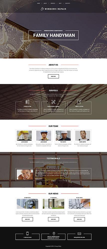 Drupal Template 53245 Main Page Screenshot