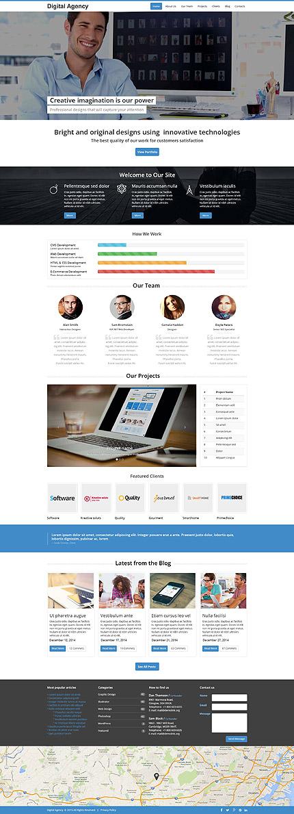 Drupal Template 53246 Main Page Screenshot