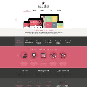 Купить  пофессиональные Drupal шаблоны. Купить шаблон #53247 и создать сайт.