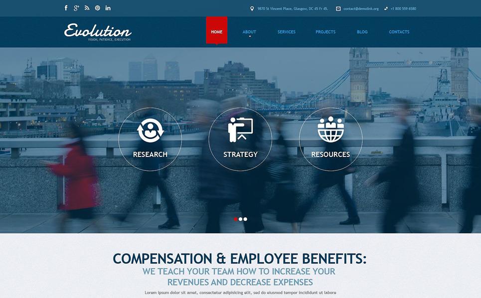 Responsive Joomla Template over Business & Diensten New Screenshots BIG