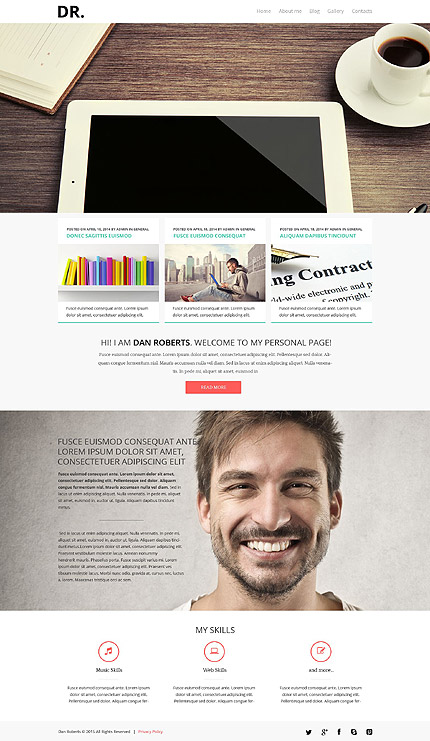 Joomla Theme/Template 53255 Main Page Screenshot