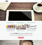 Personal Page Joomla  Template 53255