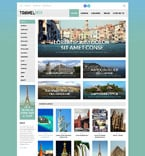 Travel WordPress Template 53260
