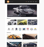 Cars WordPress Template 53262