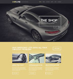 Cars WordPress Template 53266