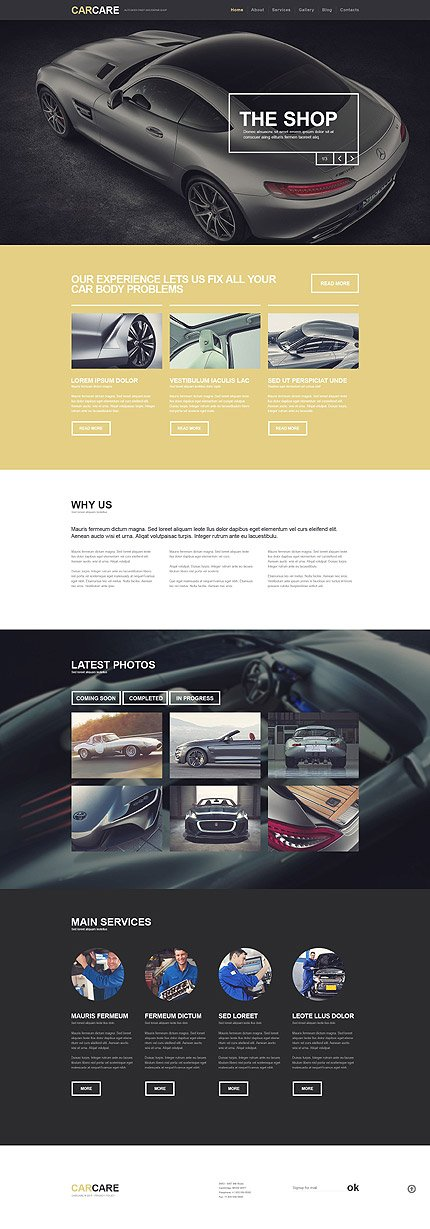 Car WordPress Theme  3