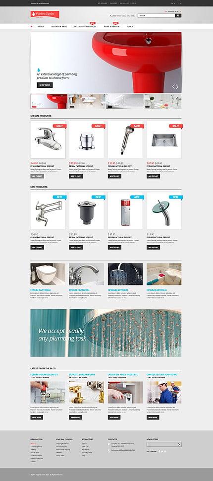Magento Theme/Template 53267 Main Page Screenshot
