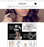 Jewelry osCommerce  Template 53269