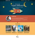 Personal Page Website  Template 53270