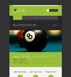 Sport Website  Template 53274