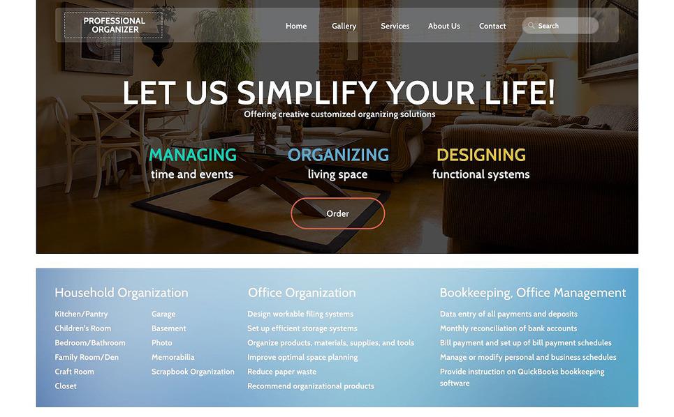 Responsive Ofis  Web Sitesi Şablonu New Screenshots BIG