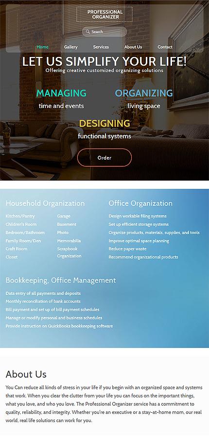 Business Website Template Website Templates