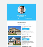 Real Estate Newsletter  Template 53284
