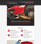 Cars Newsletter  Template 53285