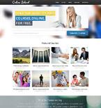 Education Website  Template 53287