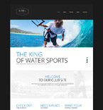 Sport Website  Template 53288