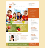 Education Website  Template 53289