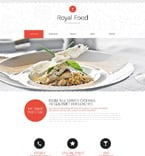 Food & Drink Website  Template 53290