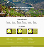 Travel WordPress Template 53298