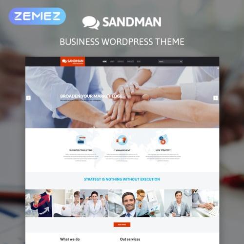 Sandman - WordPress Template based on Bootstrap