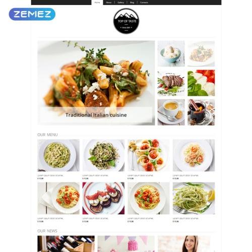 Top Of Taste - Joomla! Template based on Bootstrap