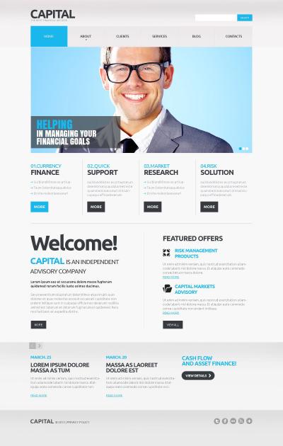 financial advisor web site