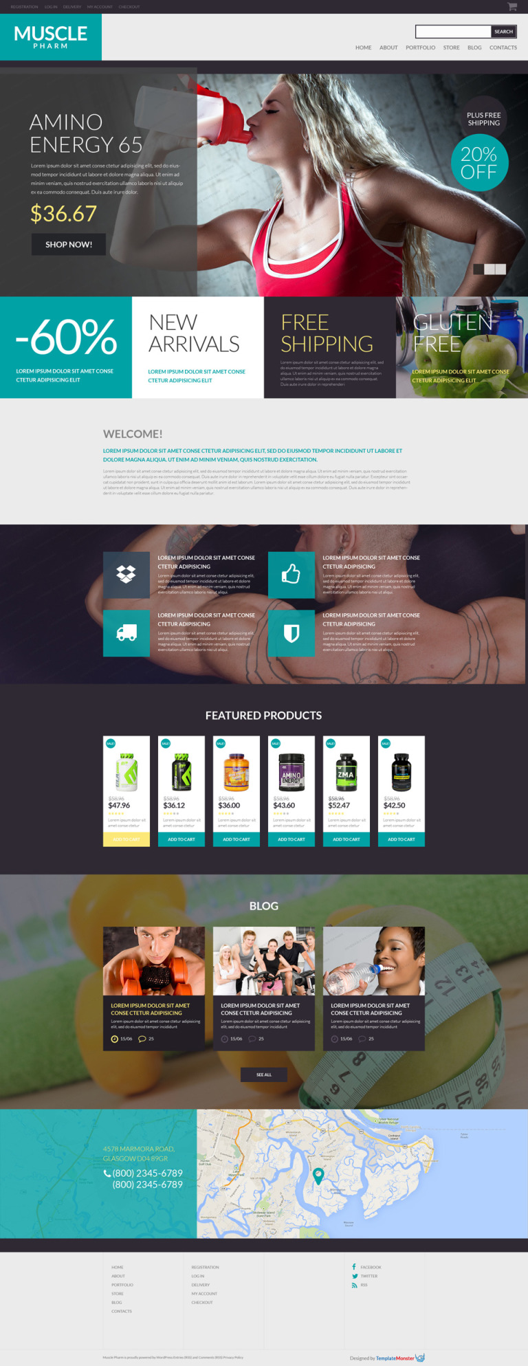 Free WooCommerce Theme for Drug Store WooCommerce Theme New Screenshots BIG