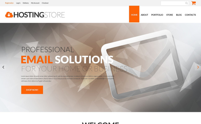 Hosting Business WooCommerce Theme