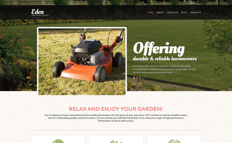 Landscape Design Tools Drupal Template